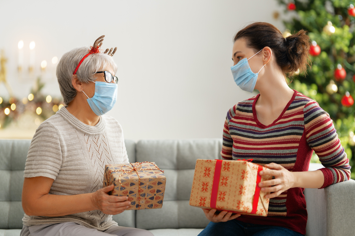 care giver holiday stock image