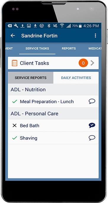 Care Worker Mobile Application