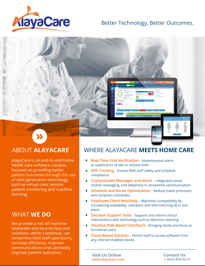 AlayaCare - Better Technology, Better Outcomes