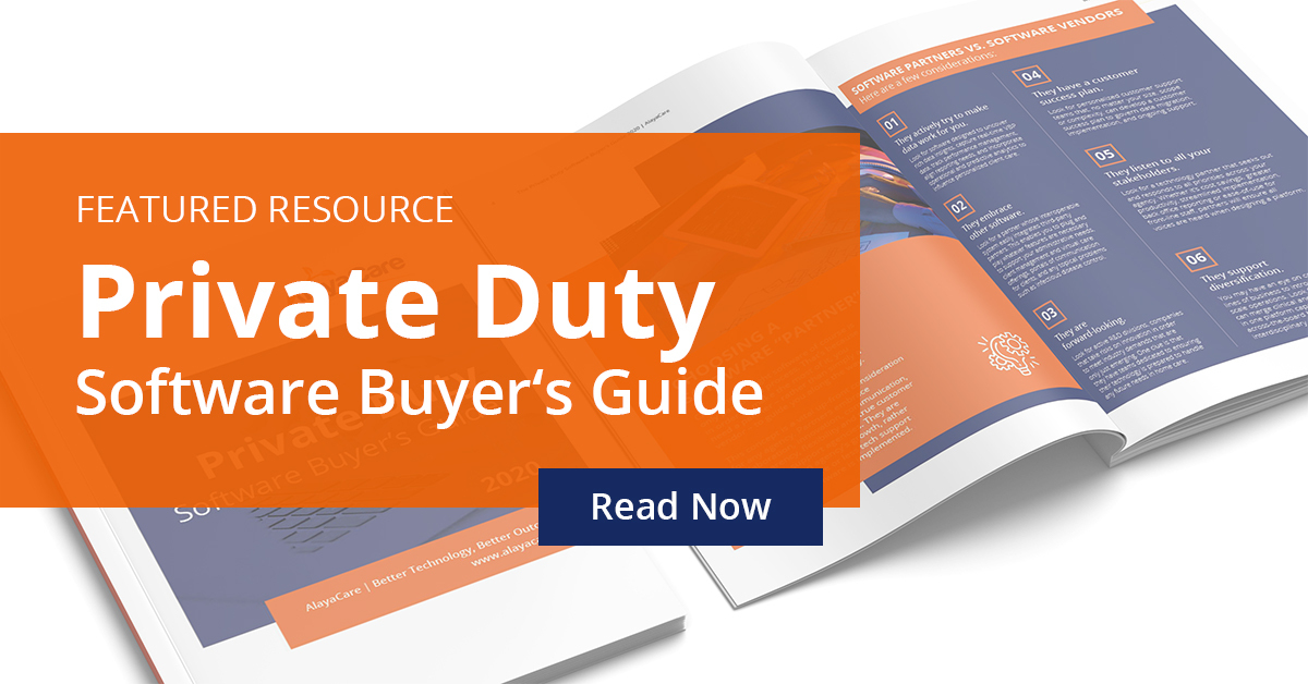 Private Duty Software Buyers Guide