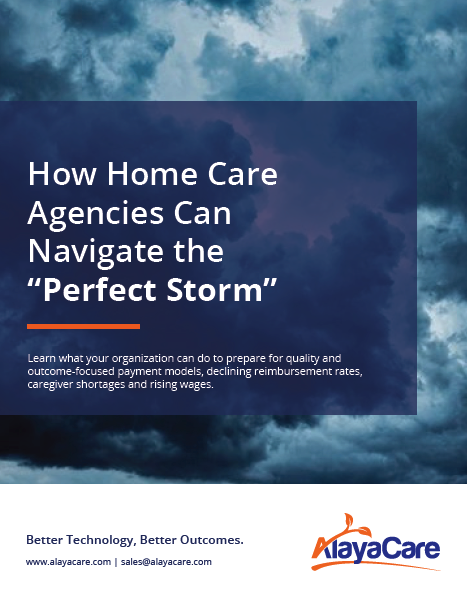 How Home Care Agencies Can Navigate the Perfect Storm