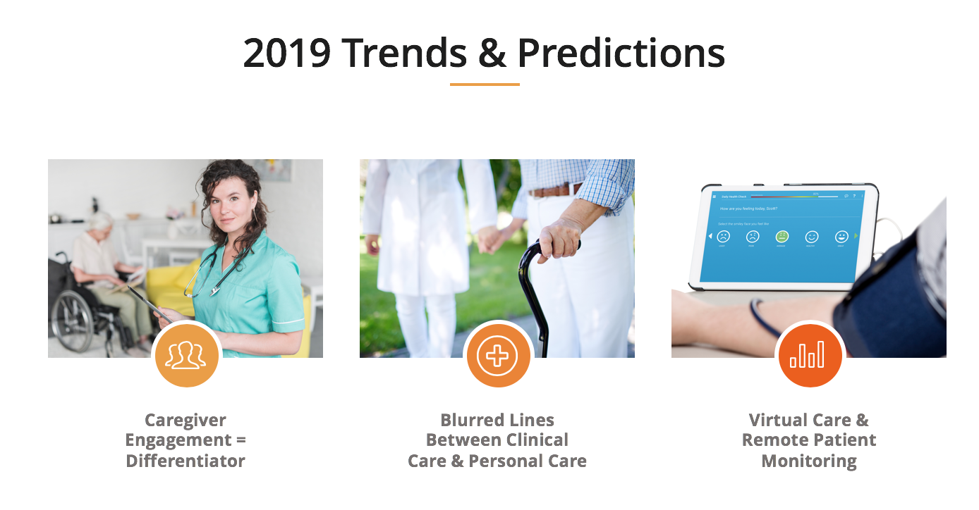 2019 home care trends and predictions