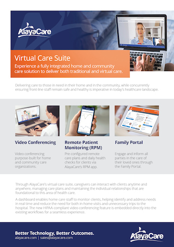Virtual Care Brochure