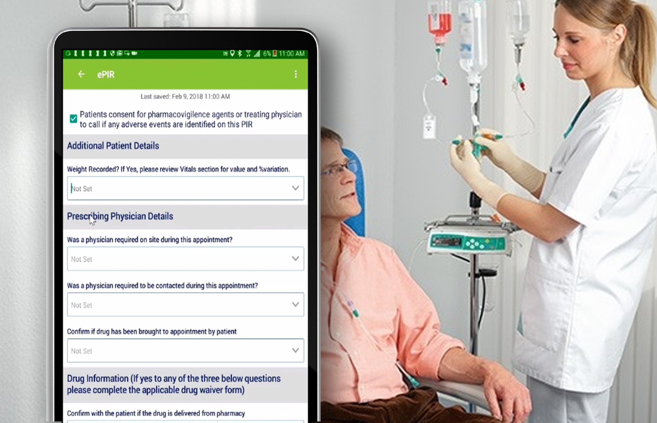 Home Infusion Software