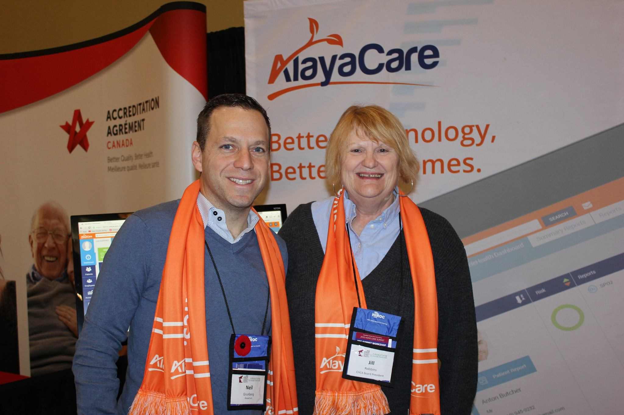 AlayaCare - 2015 Home Care Summit