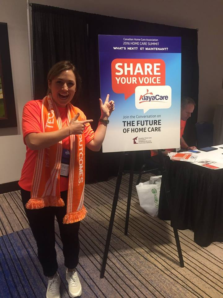 AlayaCare - 2016 Home Care Summit