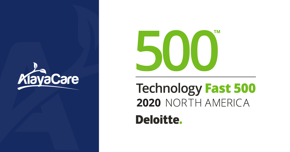 AlayaCare RankedNo. 113Fastest-Growing Company in North America on Deloitte's 2020 Technology Fast 500™