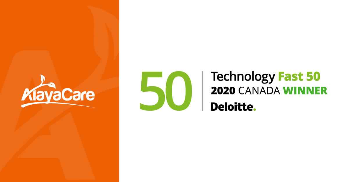 AlayaCare announced as one of Deloitte's Technology Fast 50™companies