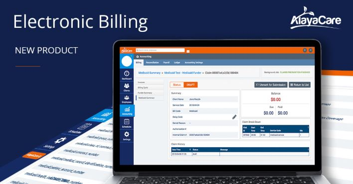 Electronic Billing - AlayaCare Home Care Software