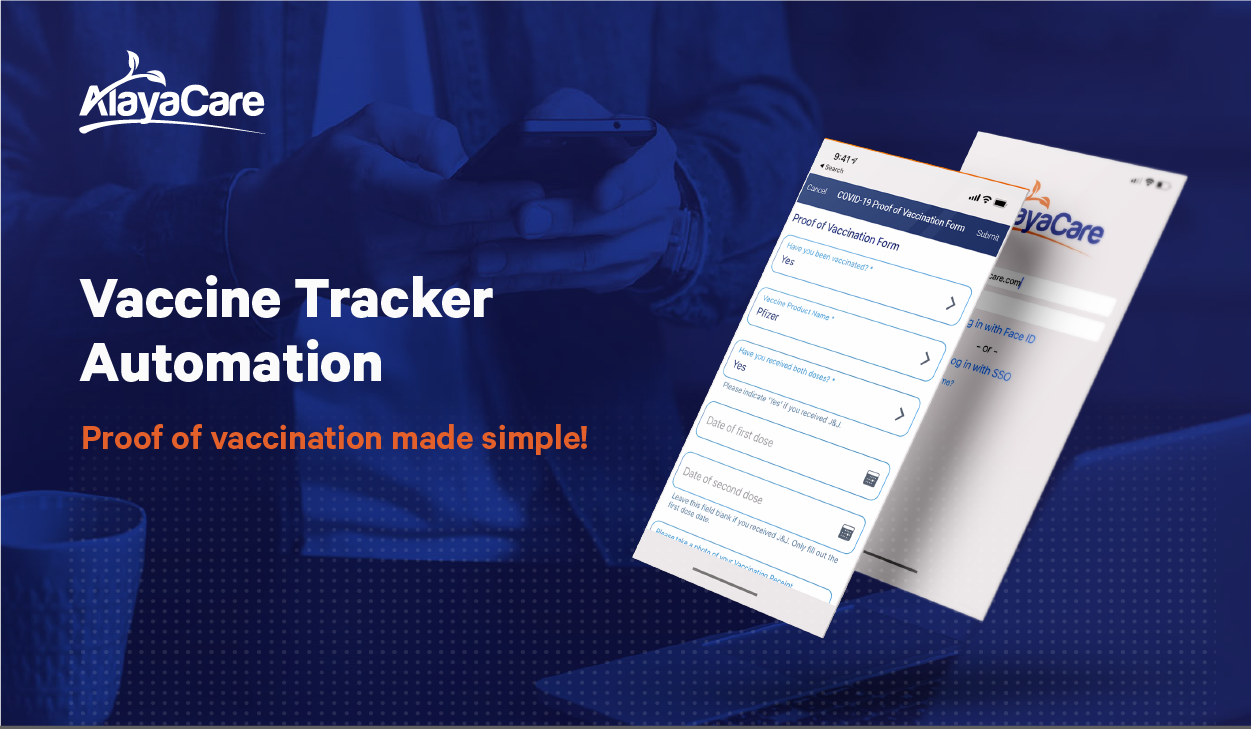 AlayaCare Announces the Release of COVID-19 Vaccine Tracking Feature for Home Care