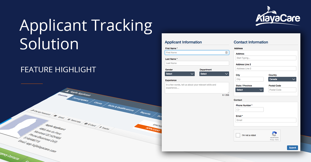 Home Care Applicant Tracking: Managing Employee Applications With AlayaCare
