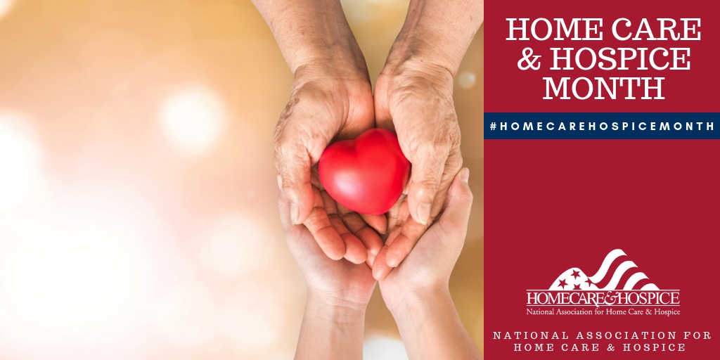 Giving thanks this National Home Care and Hospice Month