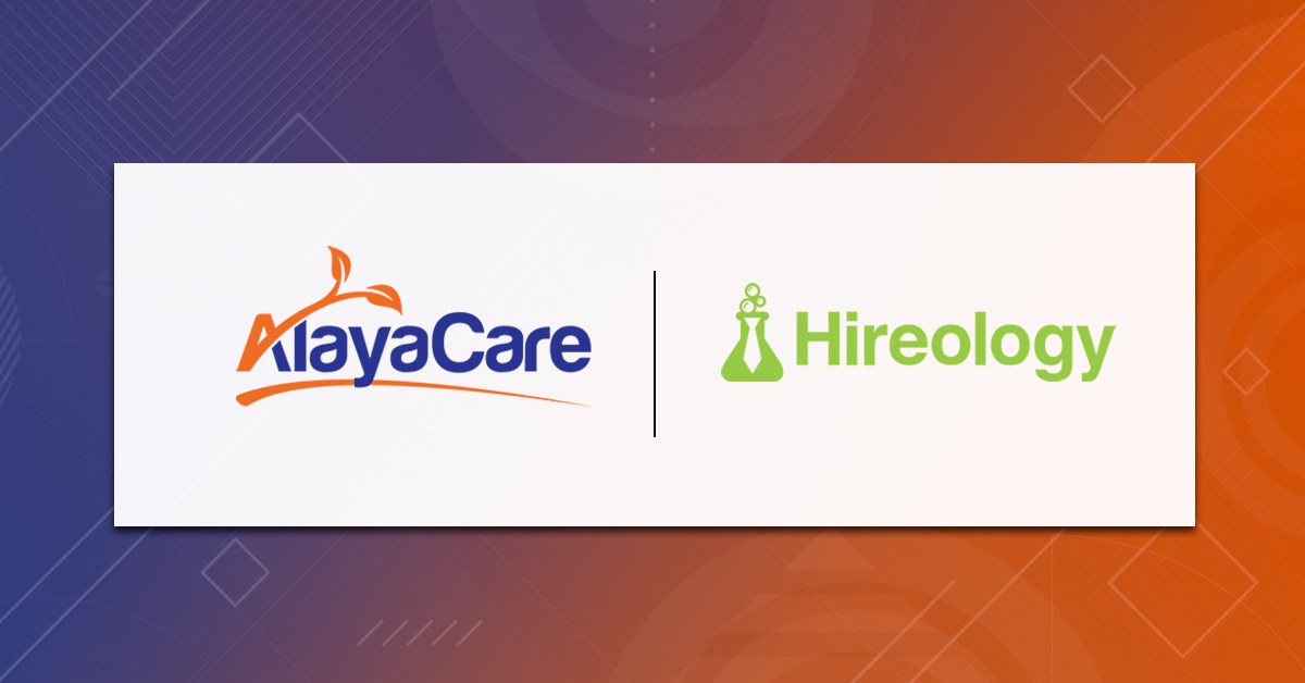 AlayaCare partners with Hireology to help care providers streamline hiring and staffing