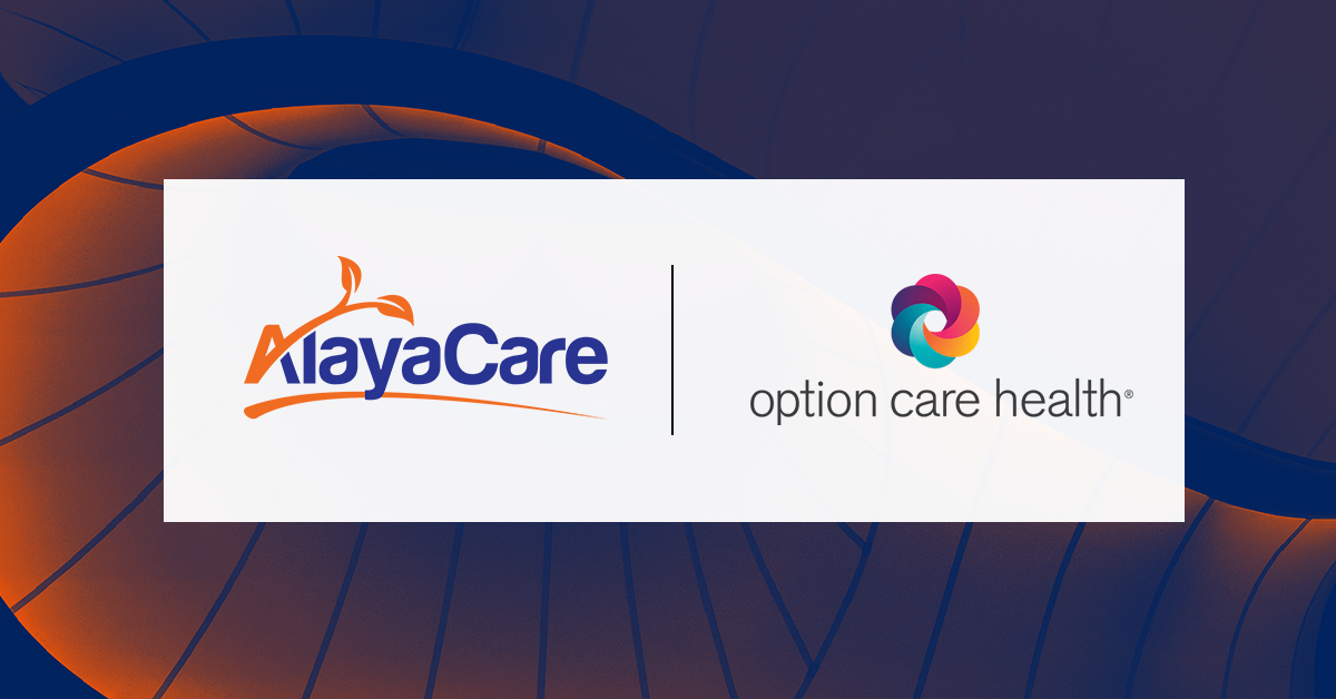 AlayaCare and Option Care Health announce joint technology collaboration agreement
