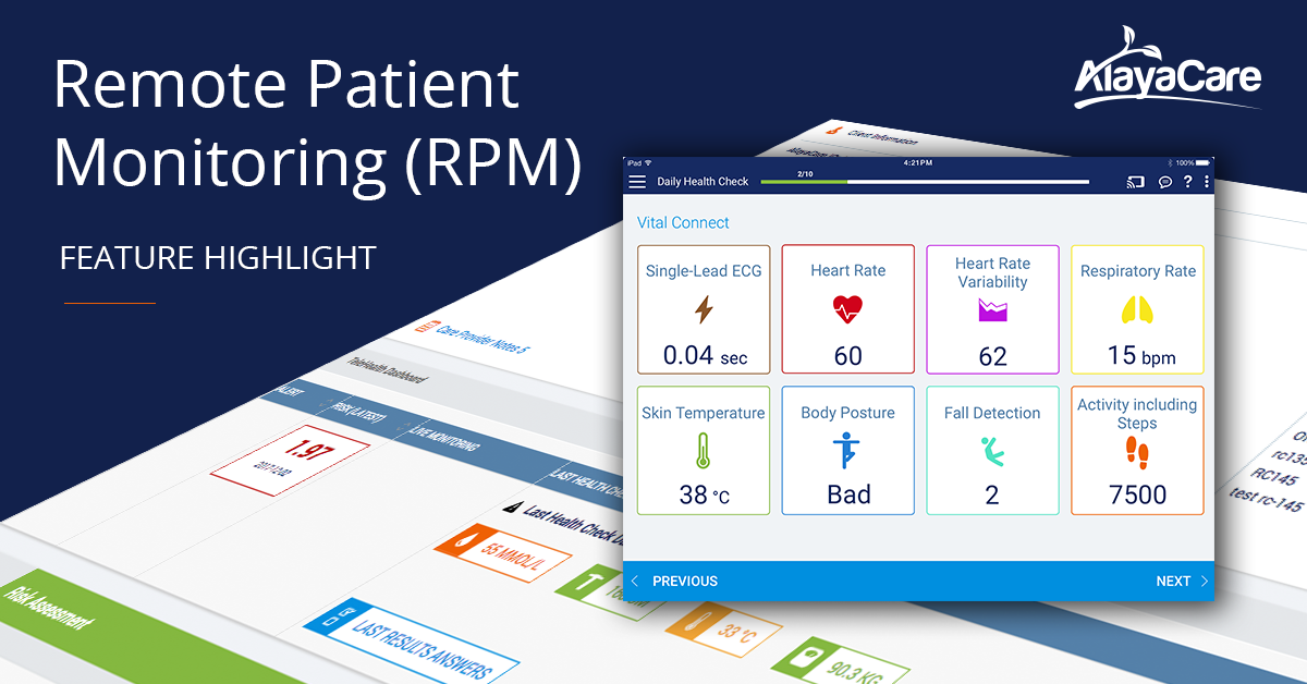 Remote Patient Monitoring (RPM): Real-Time Data to Improve Client Outcomes